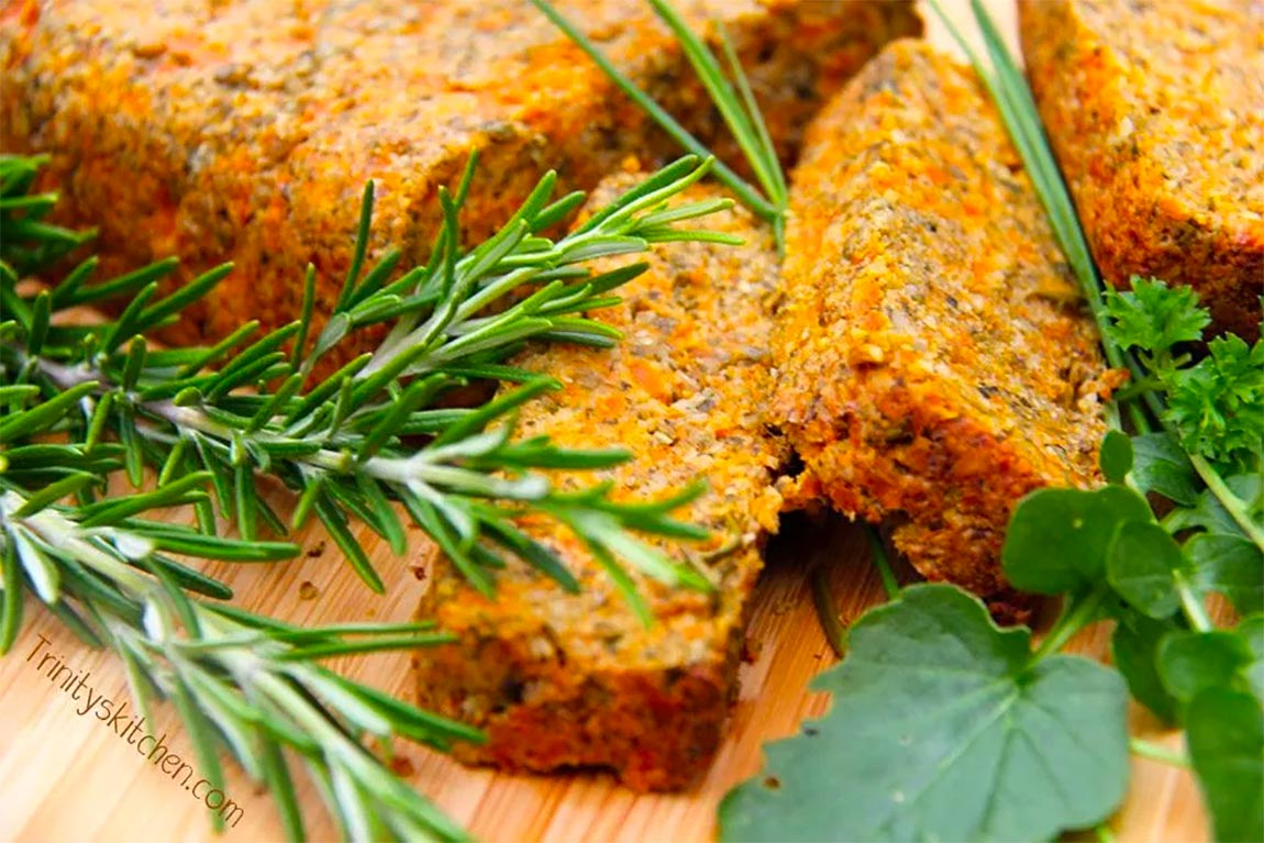 carrot roast - healthy holiday recipes