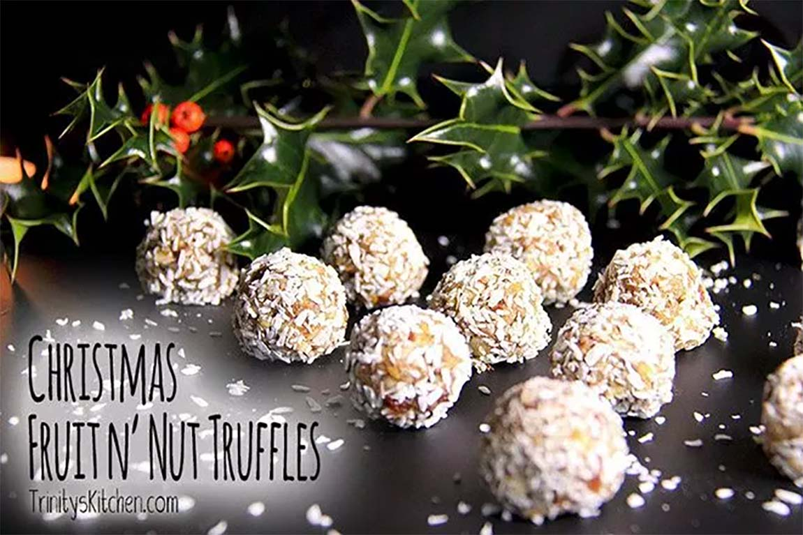 truffles - healthy holiday recipes
