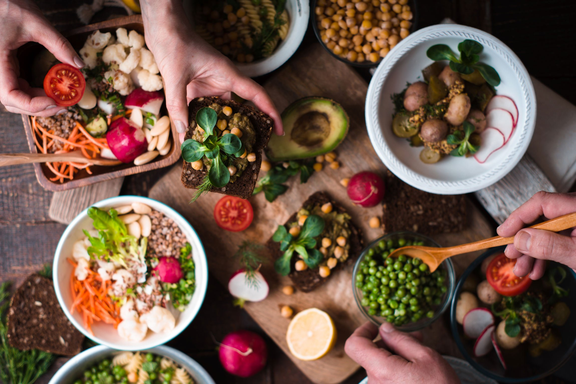 A diet for immunity features whole plant foods full of antioxidants