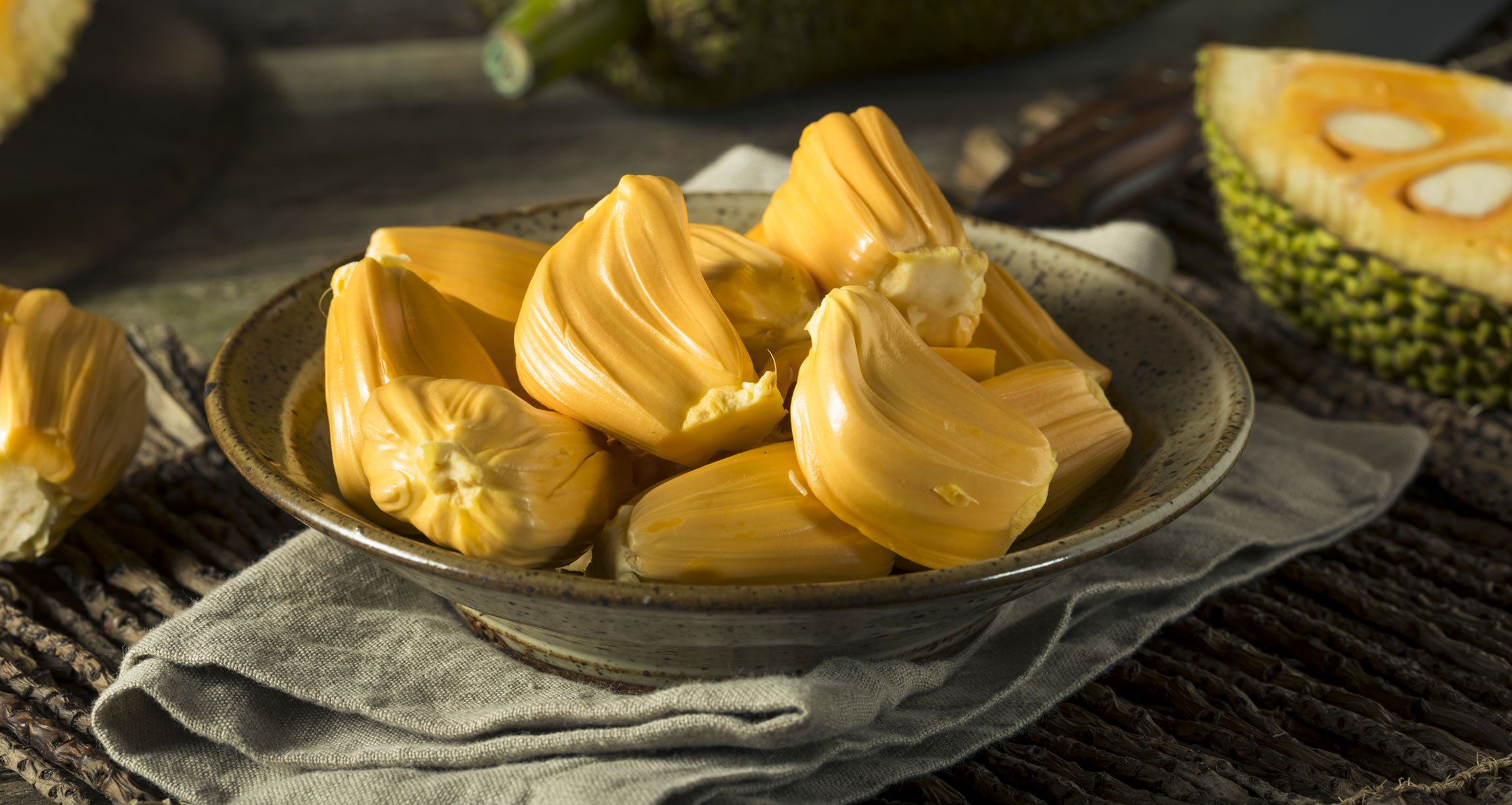 jackfruit in a bowl