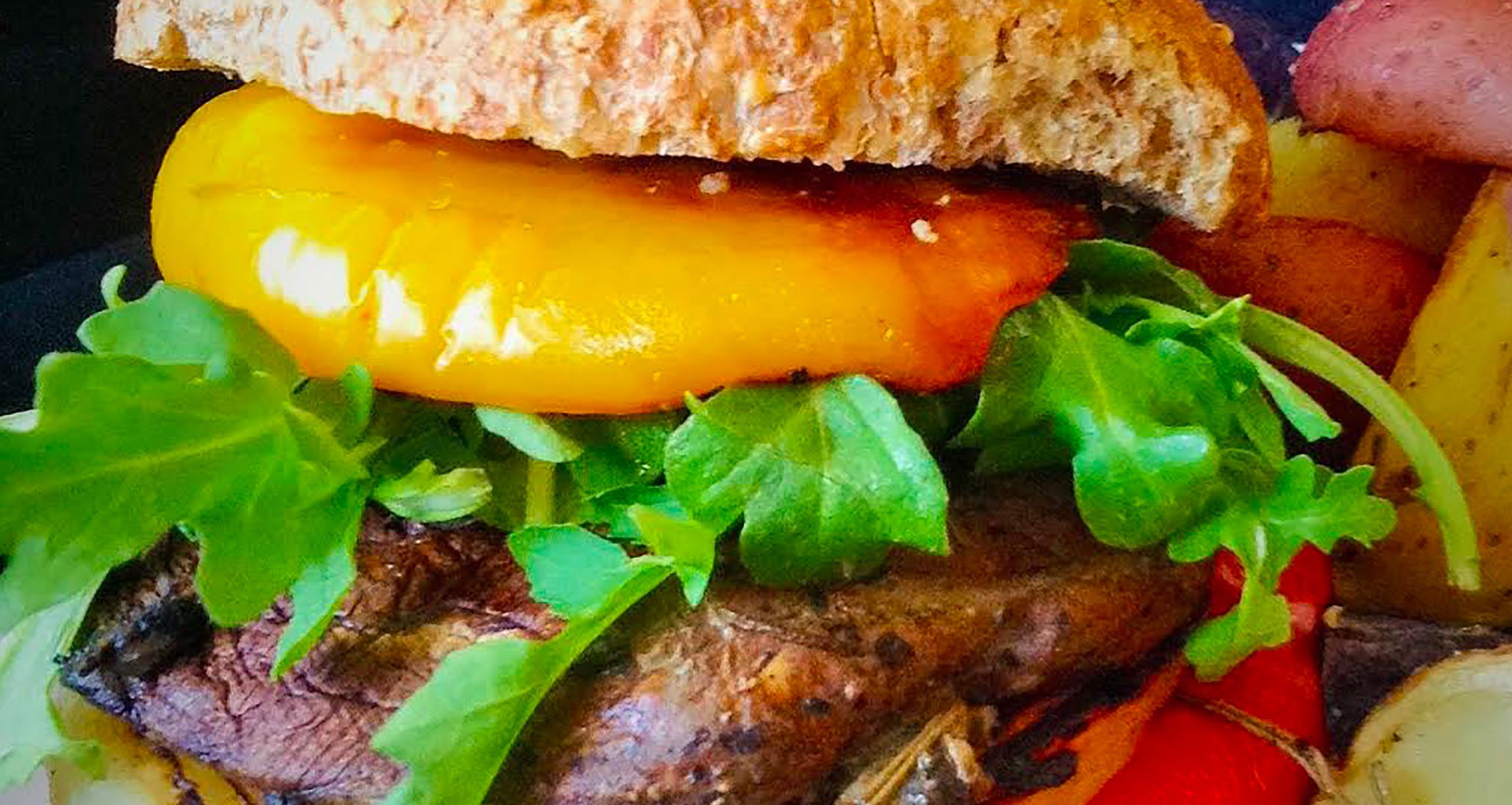 Healthy, Plant-Powered Recipe: Portobello Mushroom Burger