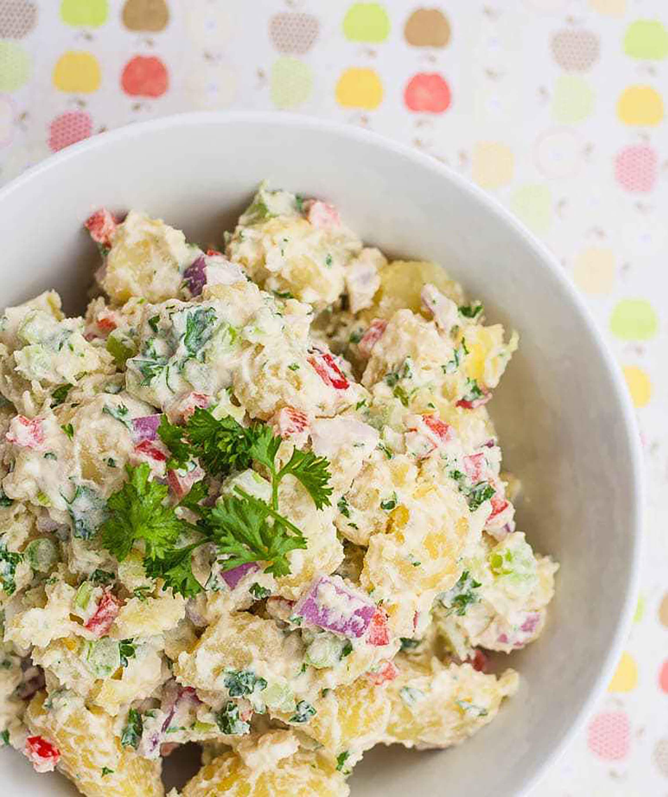 Healthy potato salad recipe