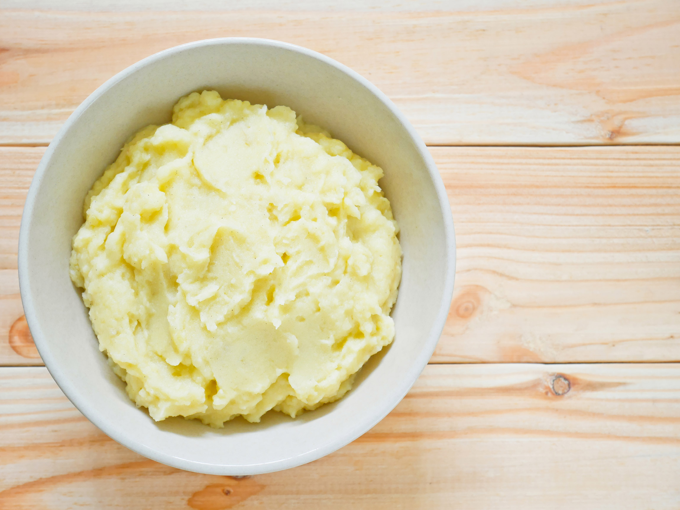 Healthy holiday food swaps: mashed potatoes