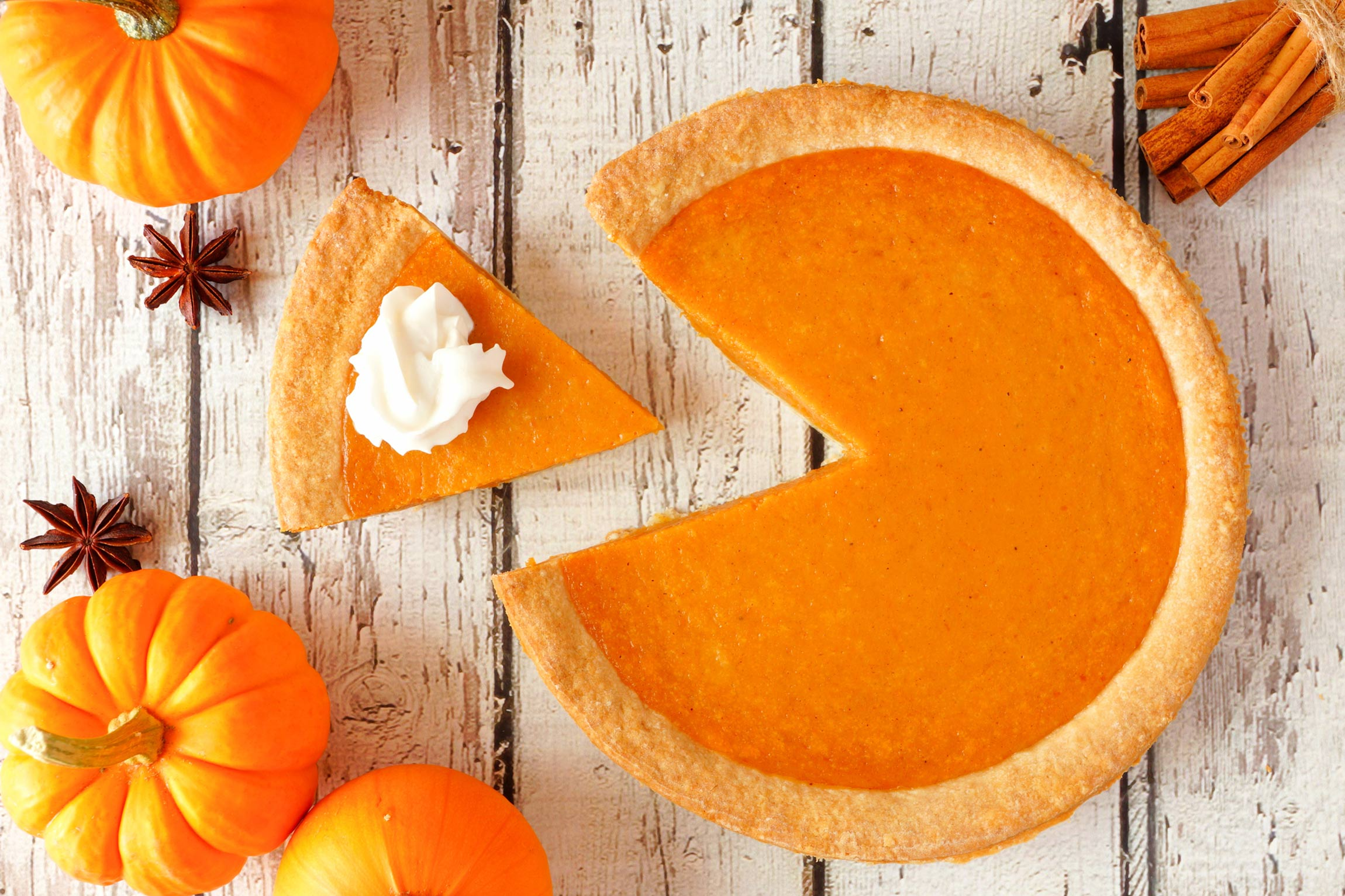 Healthy holiday food swaps: pumpkin pie