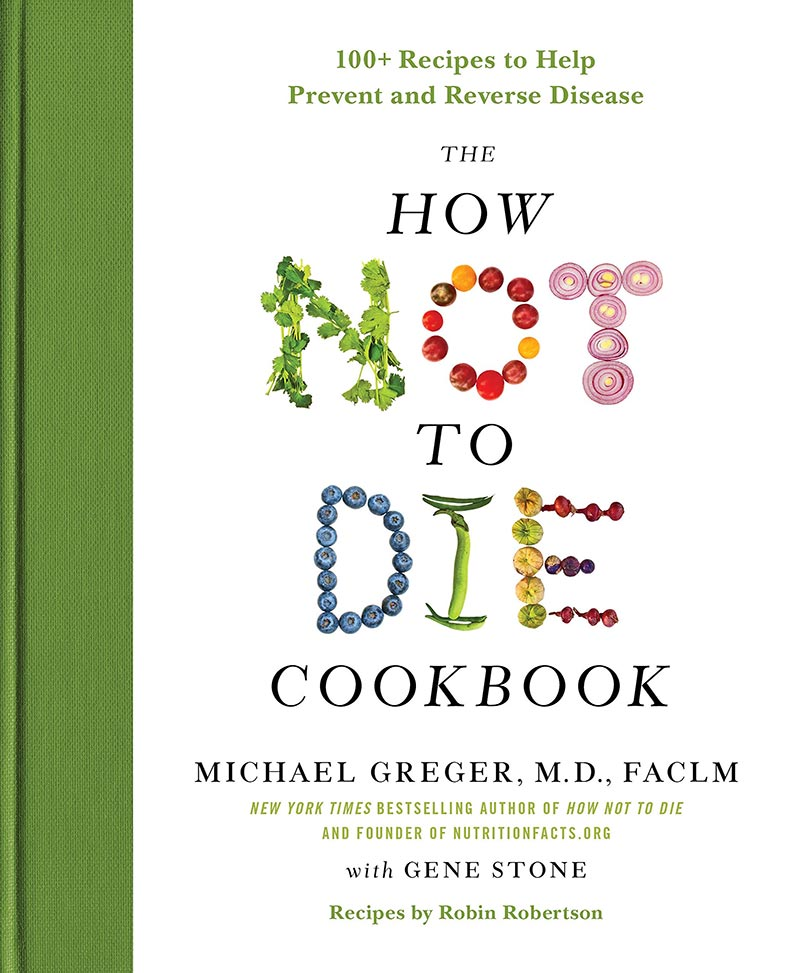 the how not to die cookbook cover