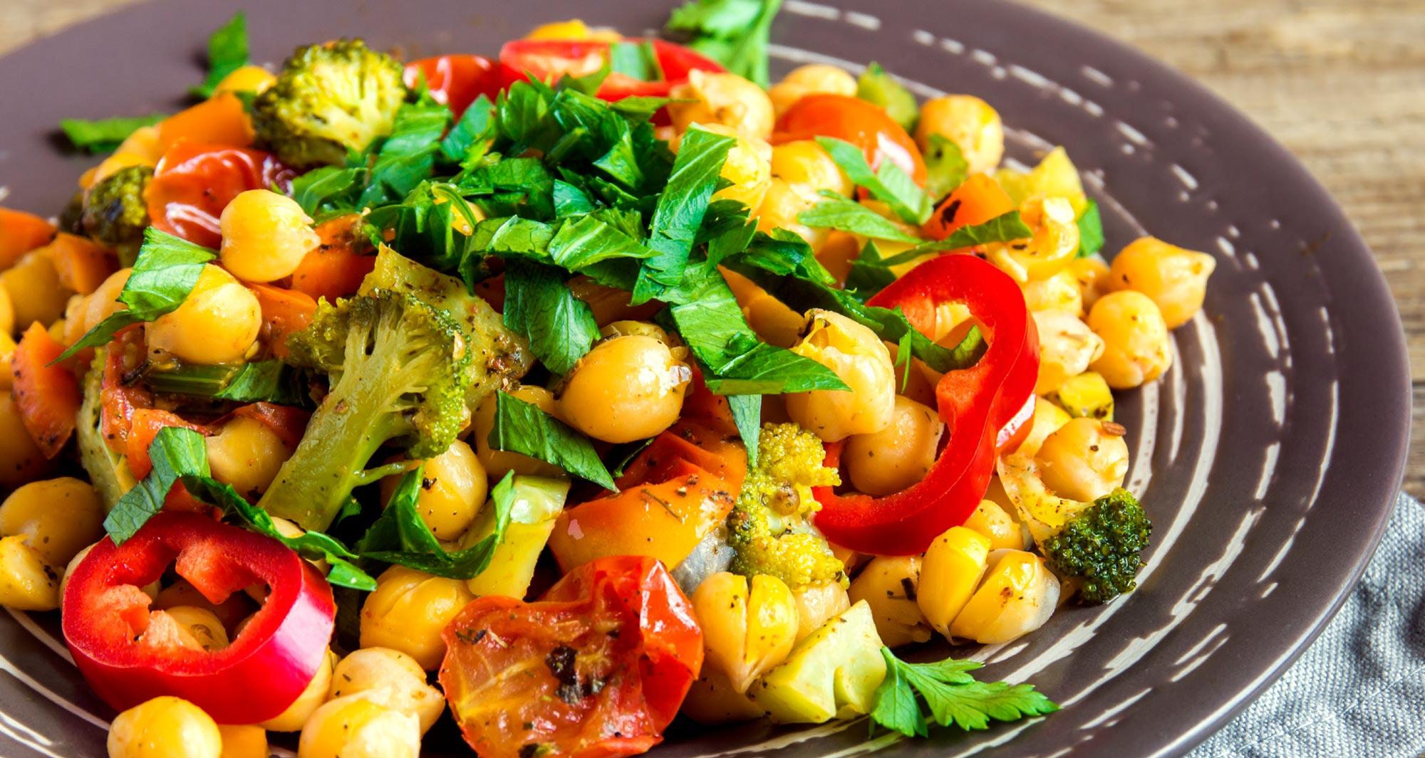 bol de nourriture végétalienne