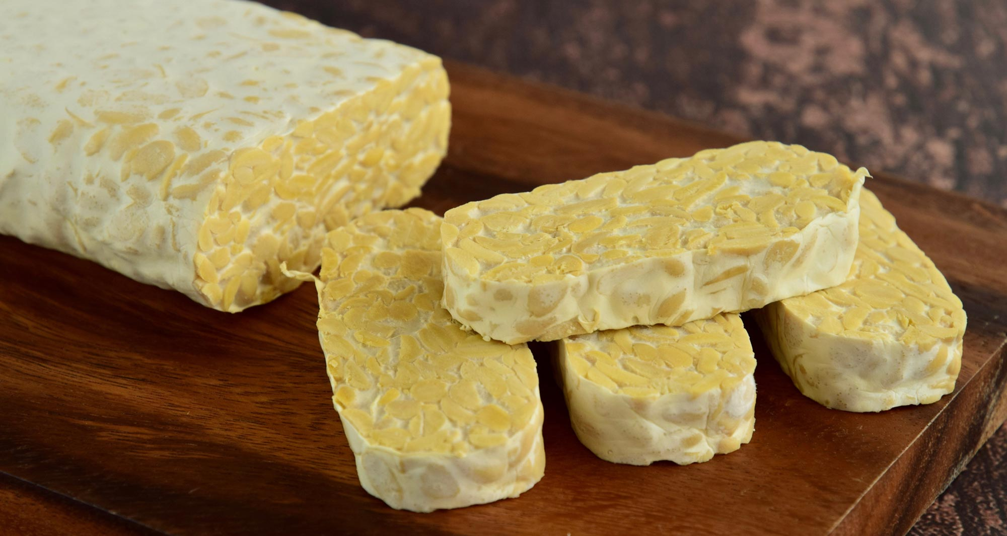 slices of tempeh