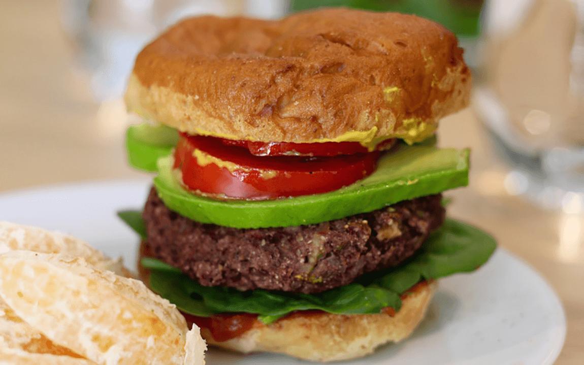 Lentil-Beet Burgers