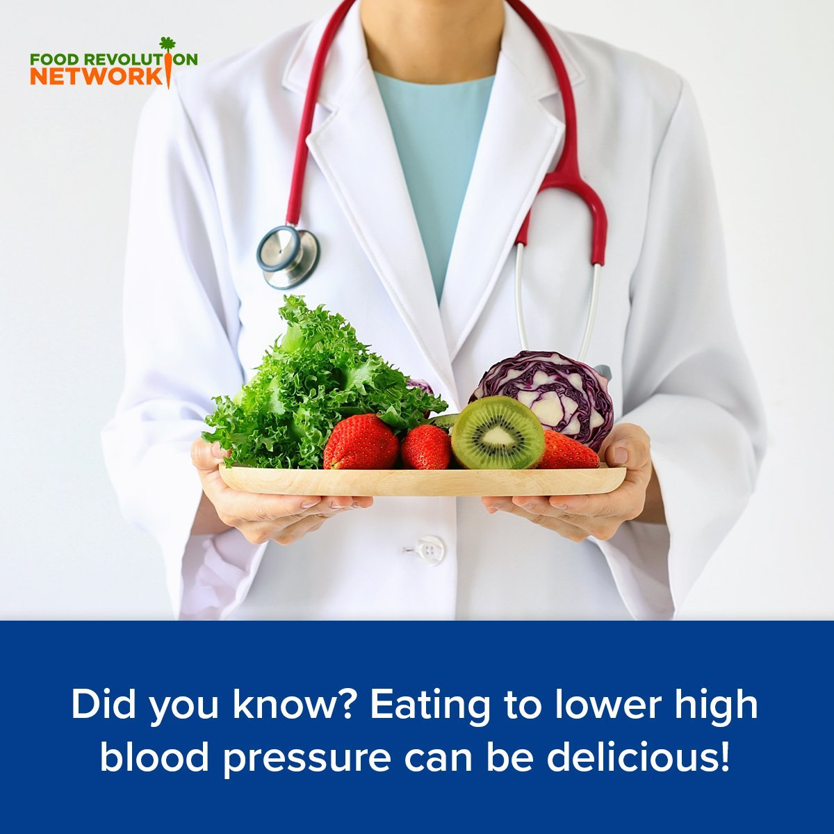 Did you know? Eating to lower high blood pressure can be delicious!