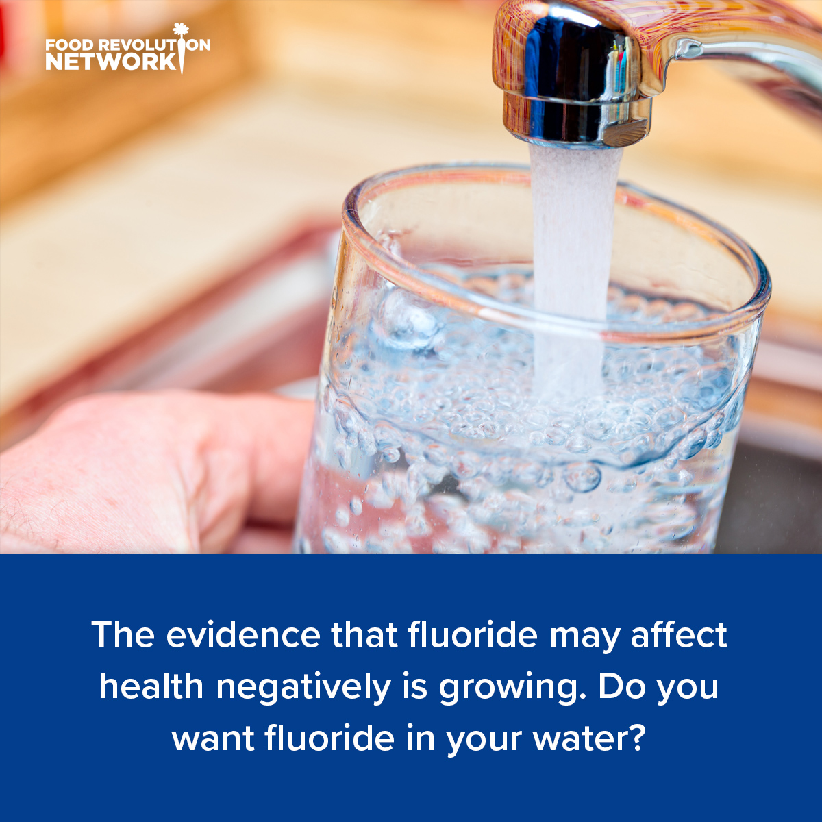 The evidence that fluoride may affect health negatively is growing. Do you want fluoride in your water?