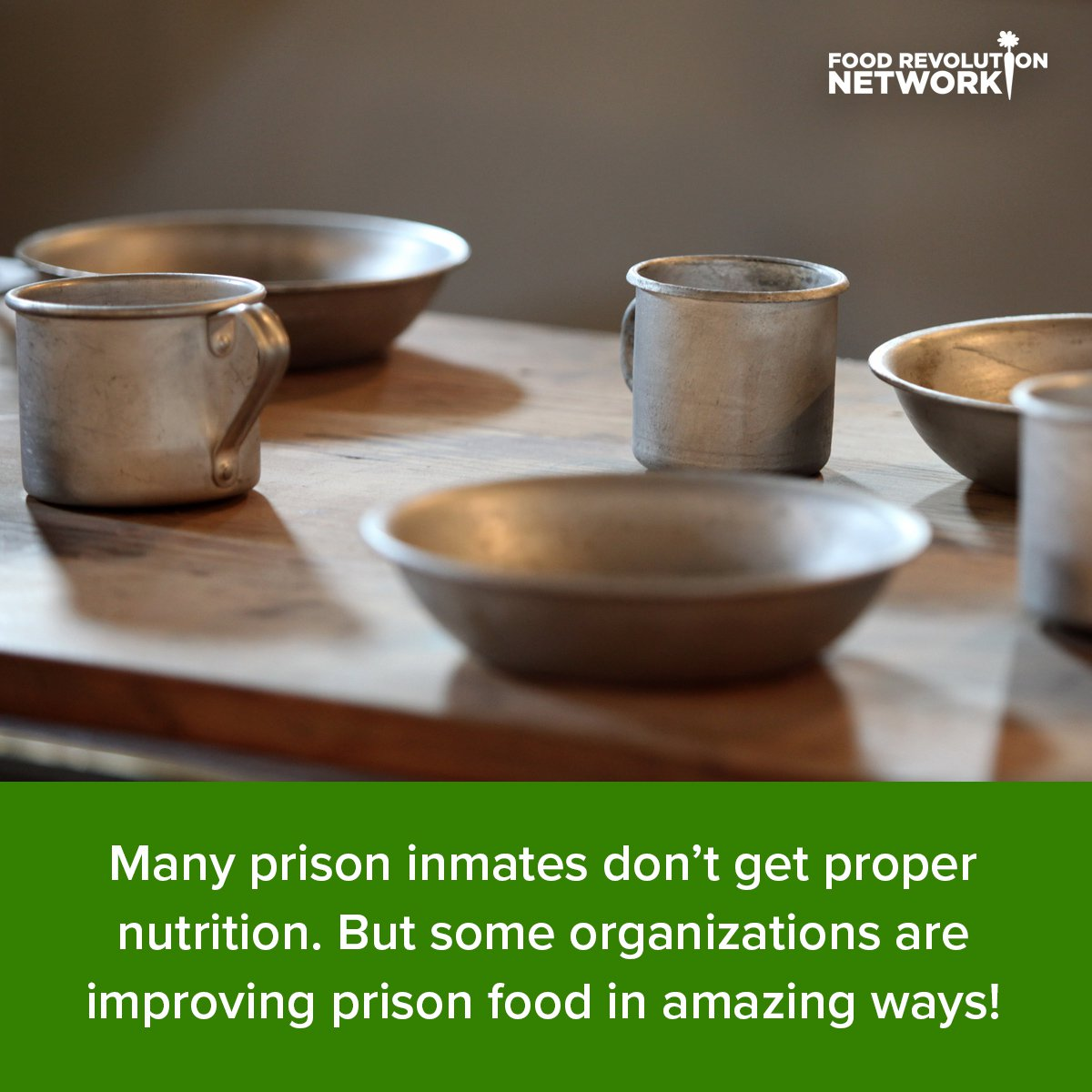 Many prison inmates don't get proper nutrition. But some organizations are improving prison food in amazing ways!