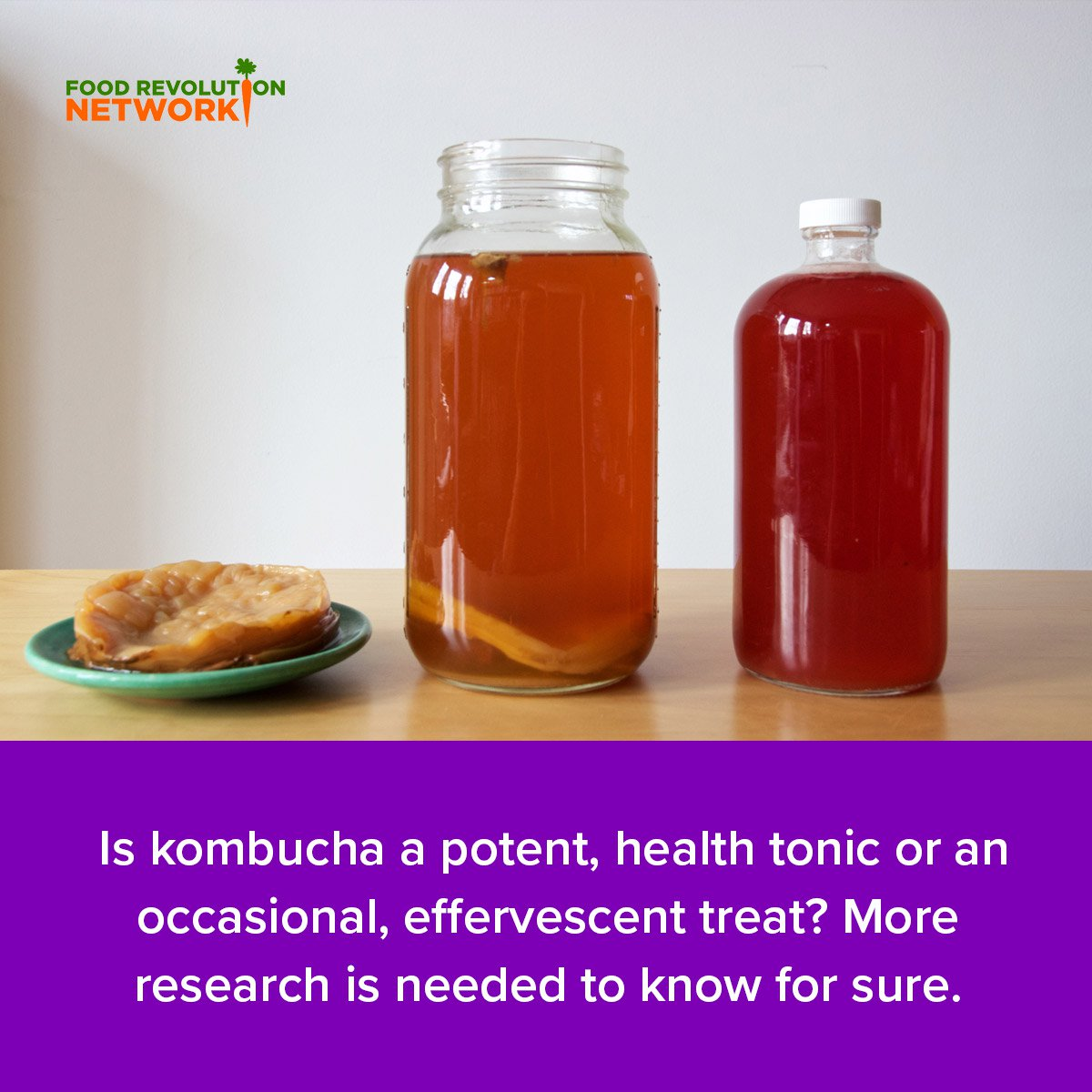 Is kombucha a potent, health tonic or an occasional, effervescent treat? More research is needed to know for sure.