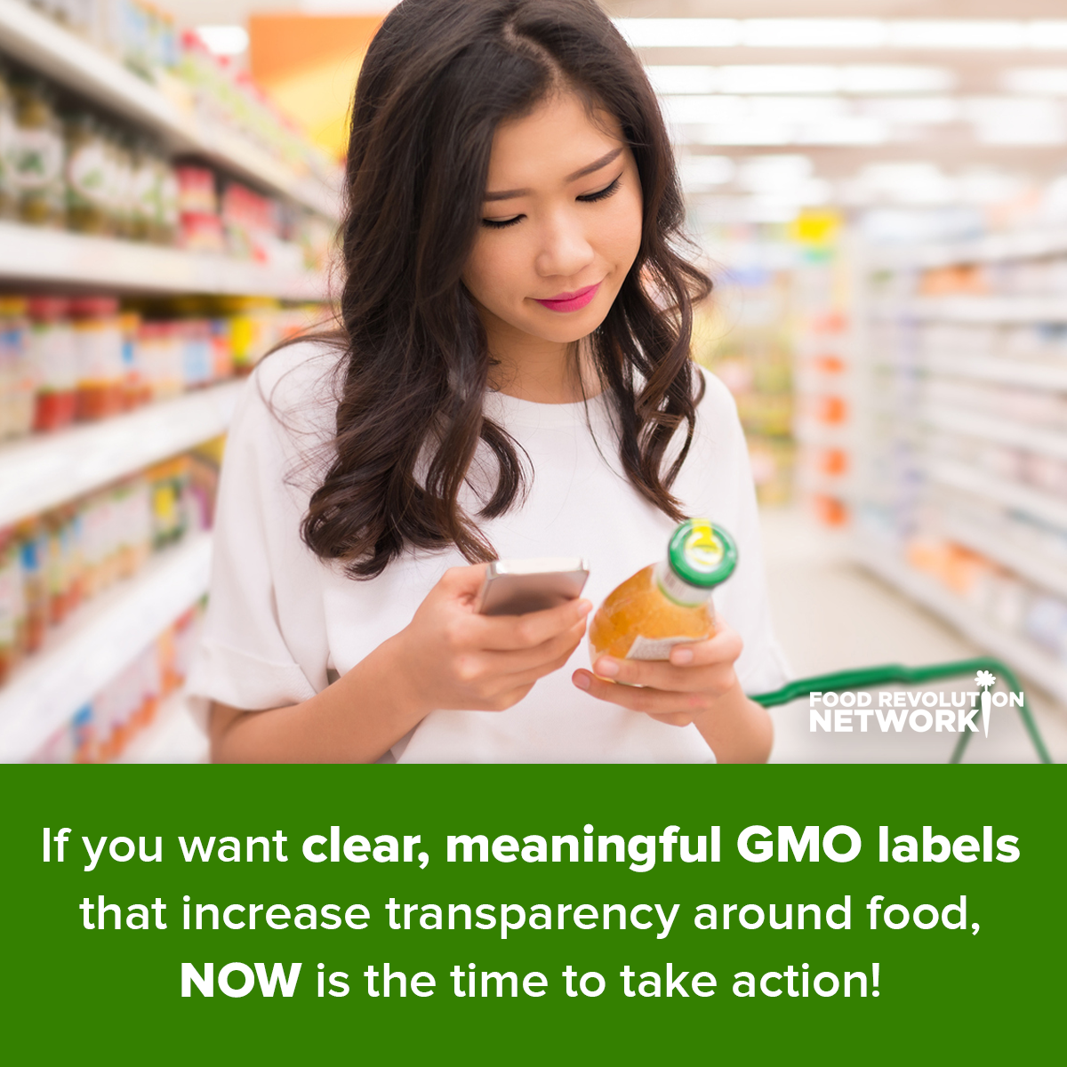 GMO labeling US: Take Action