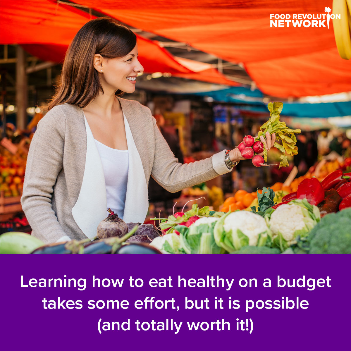 Learning how to eat healthy on a budget takes some effort, but it is possible (and totally worth it!)