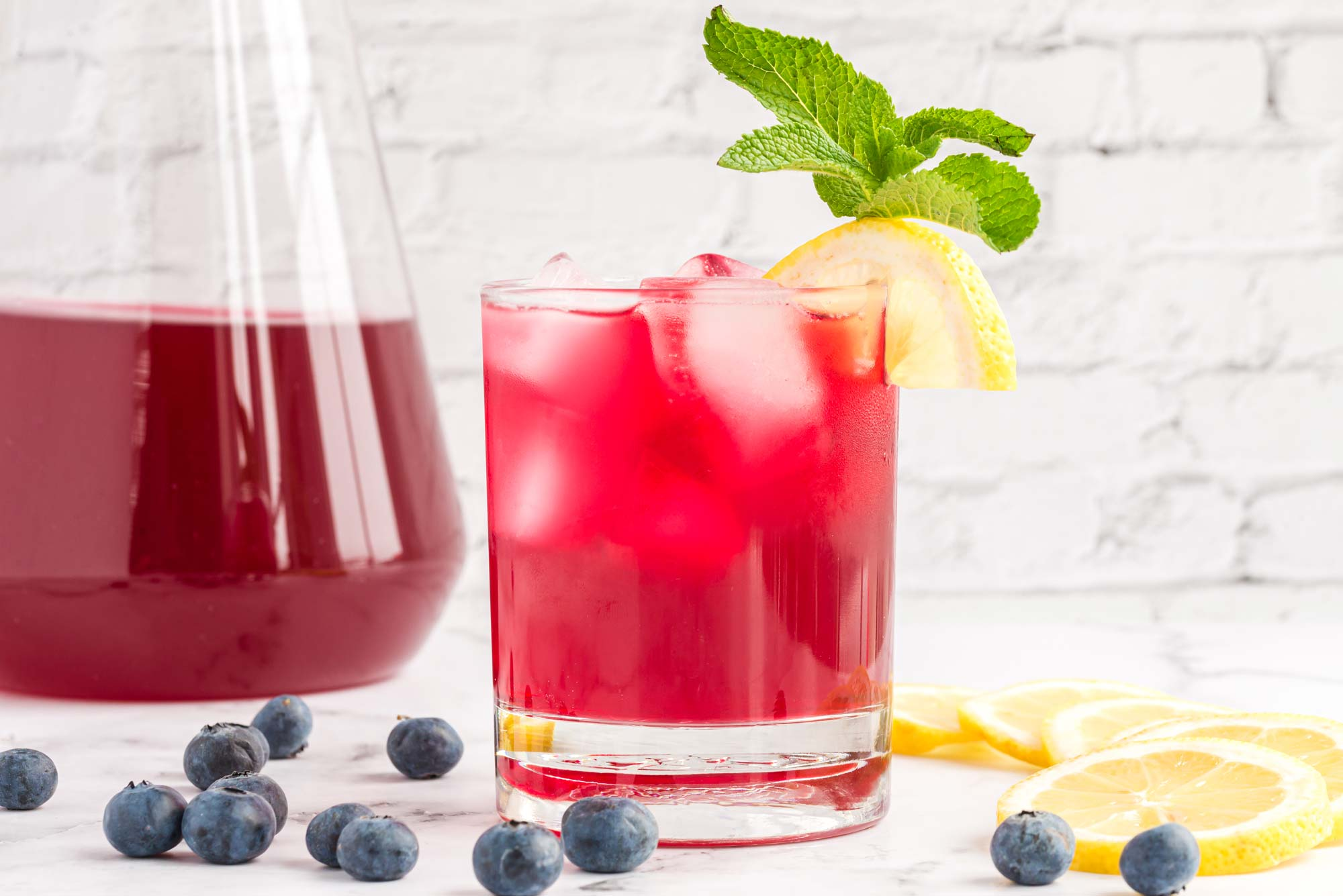 blueberry lemon cooler