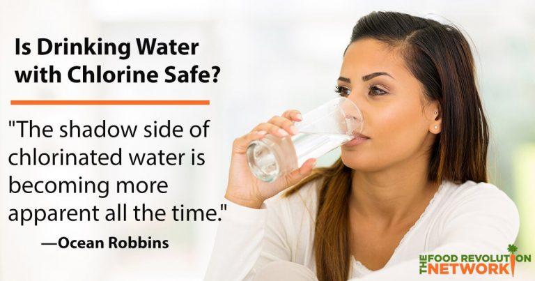 Chlorine in drinking water has harmful health effects