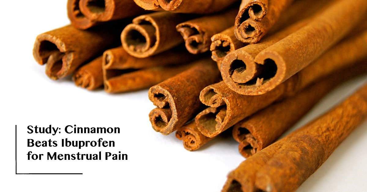 cinnamon powder for period pain