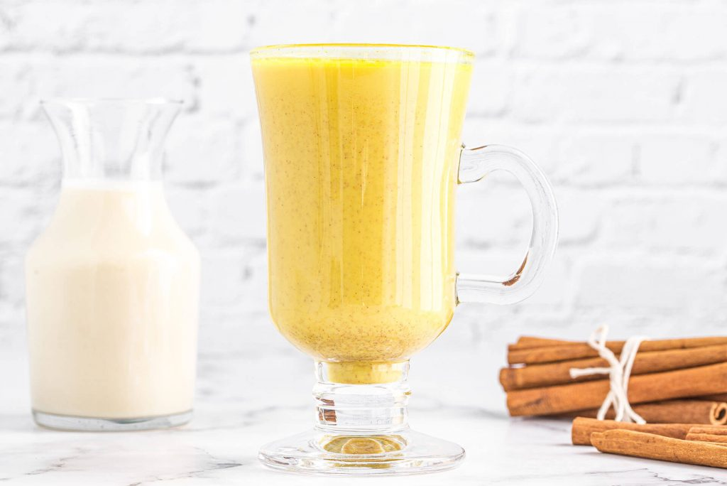 Creamy Golden Milk with Adaptogens