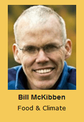 Bill McKibben Food & Climate