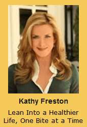 Kathy Freston Lean Into a Healthier Life, One Bite at a Time