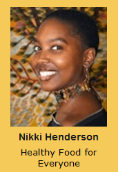 Nikki Henderson Healthy Food for Everyone