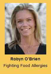 Robyn O'Brien Fighting Food Allergies