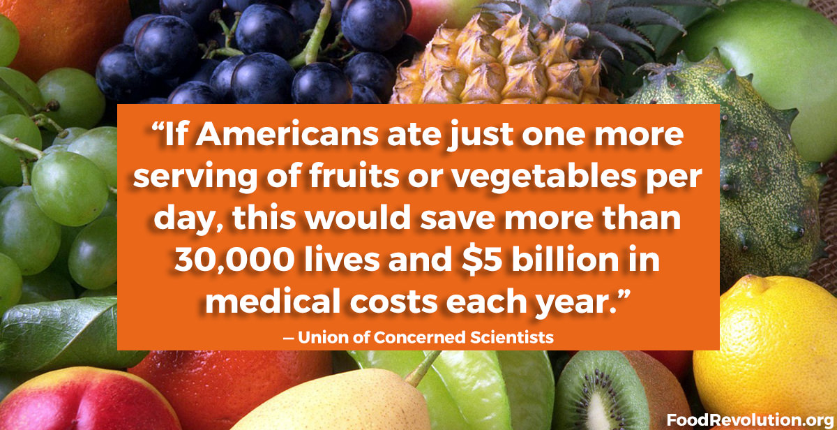 Why Americans should eat more fruits and vegetables