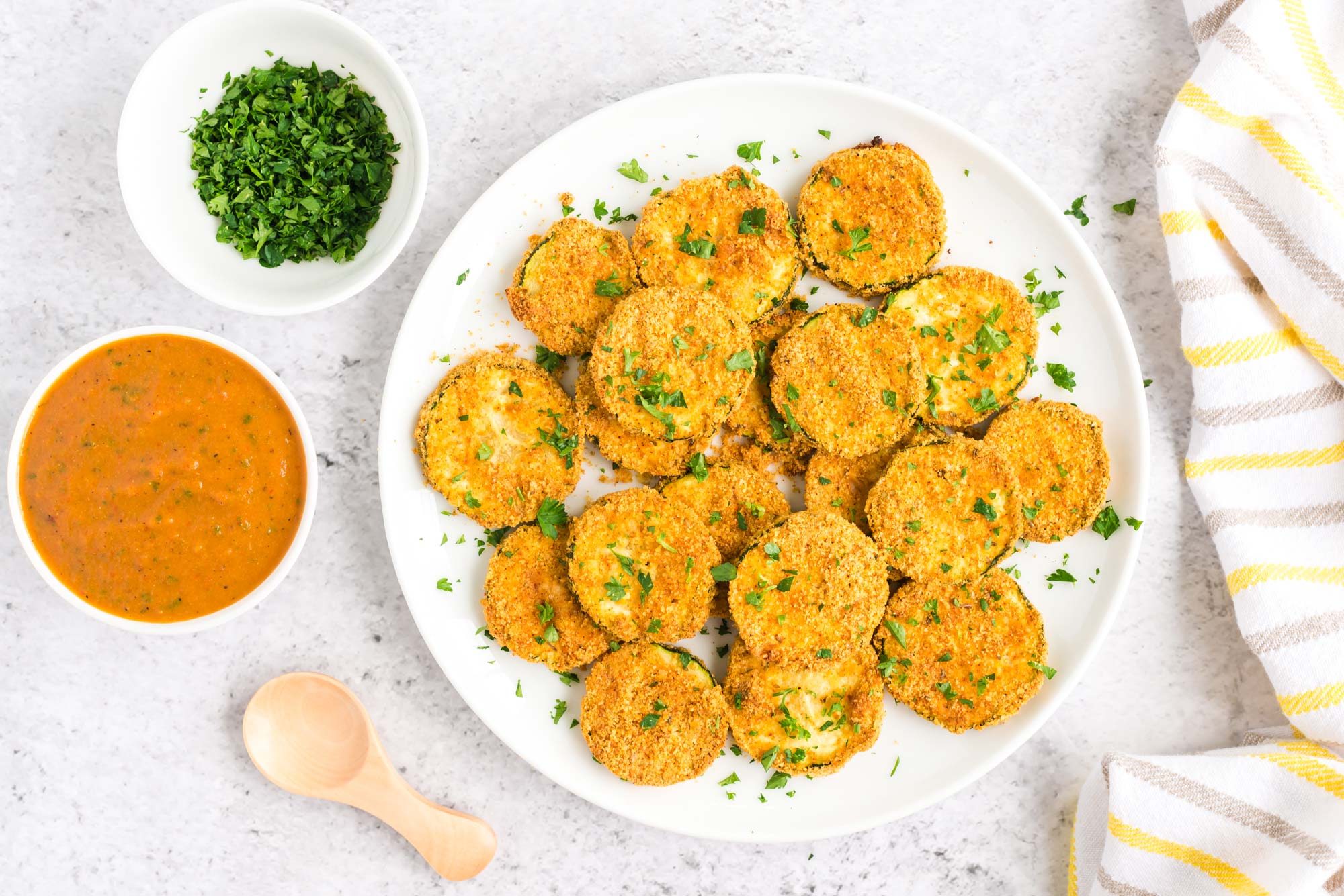 Garlicky vegan cheesy squash bites