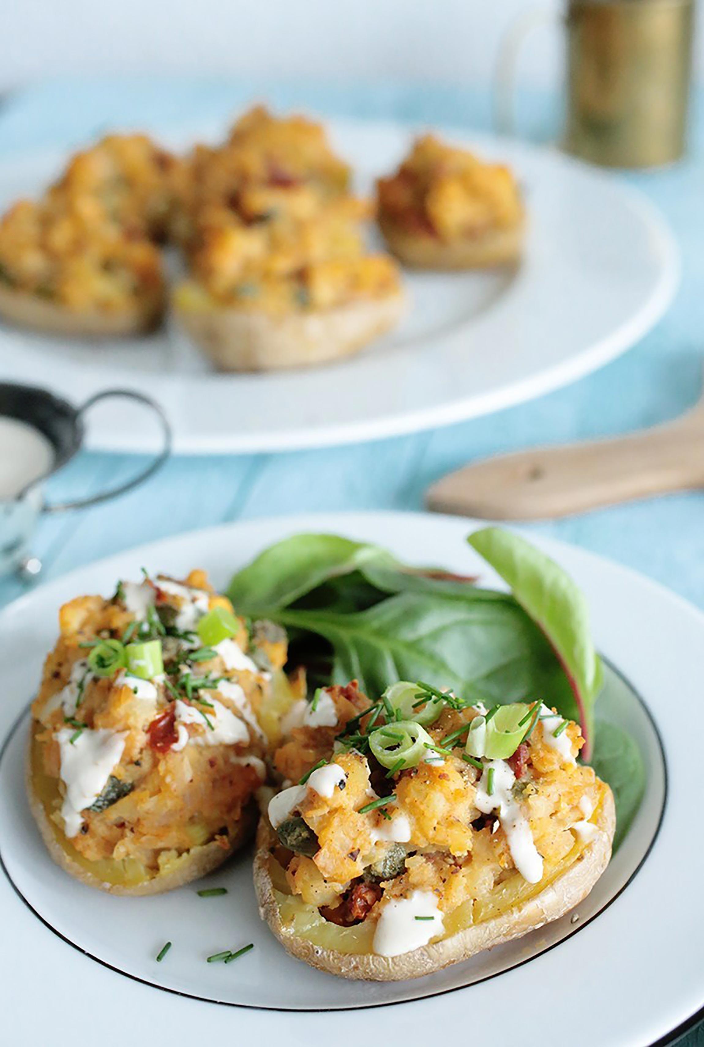 Healthy Super Bowl Recipes: Potato Skins
