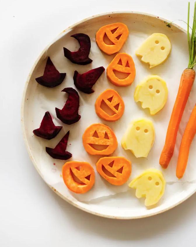 Vegan Halloween Recipes: Roasted Vegetables