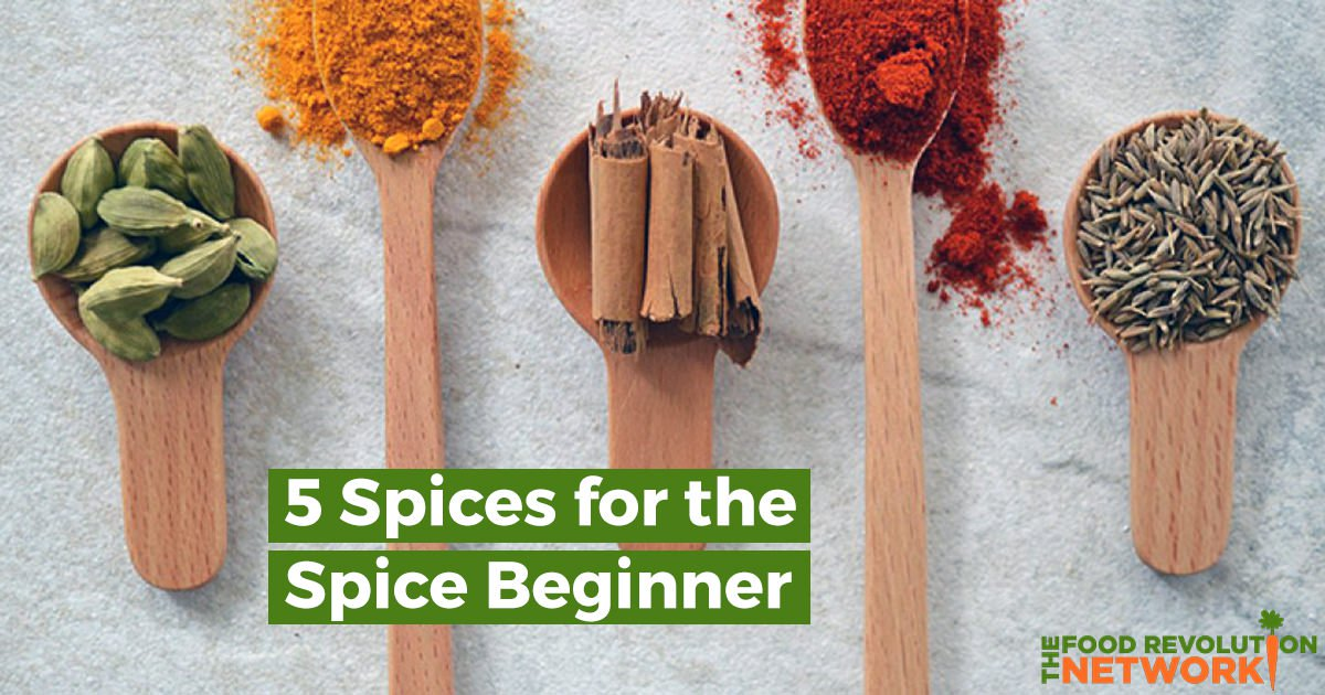 5 Health-Boosting Spices for the Spice Beginner — and How to Use Them