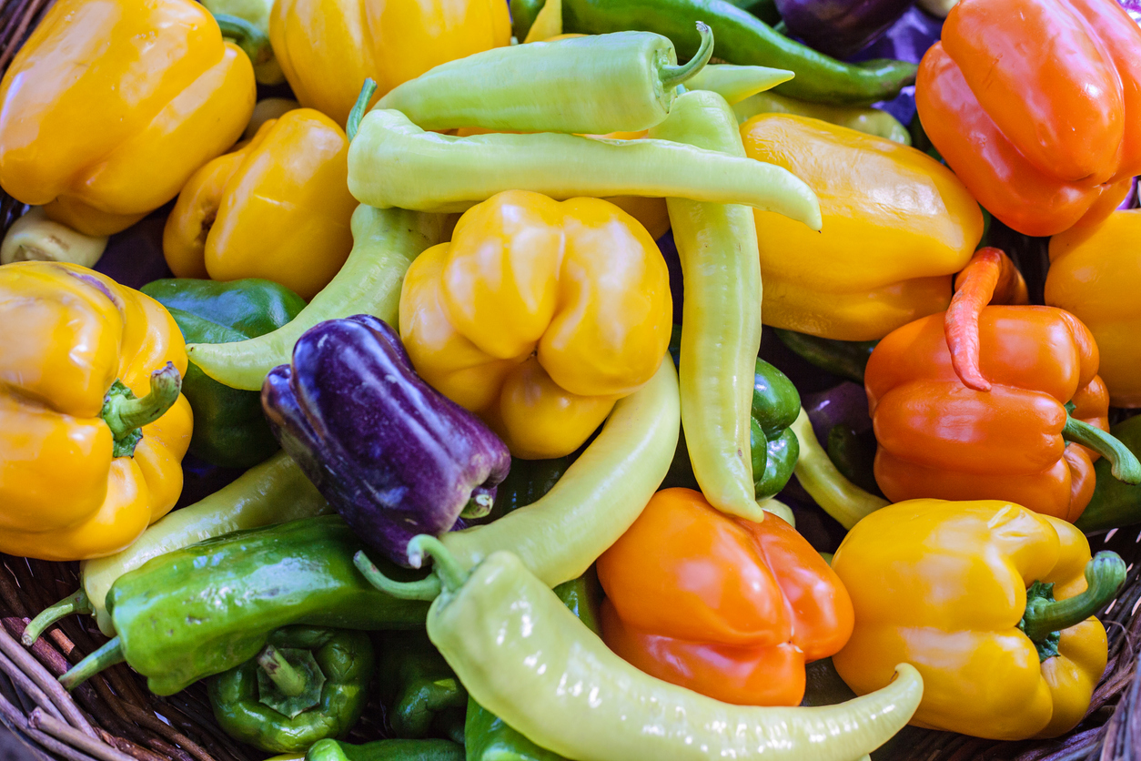 Dirty Dozen - Bell and Hot Peppers