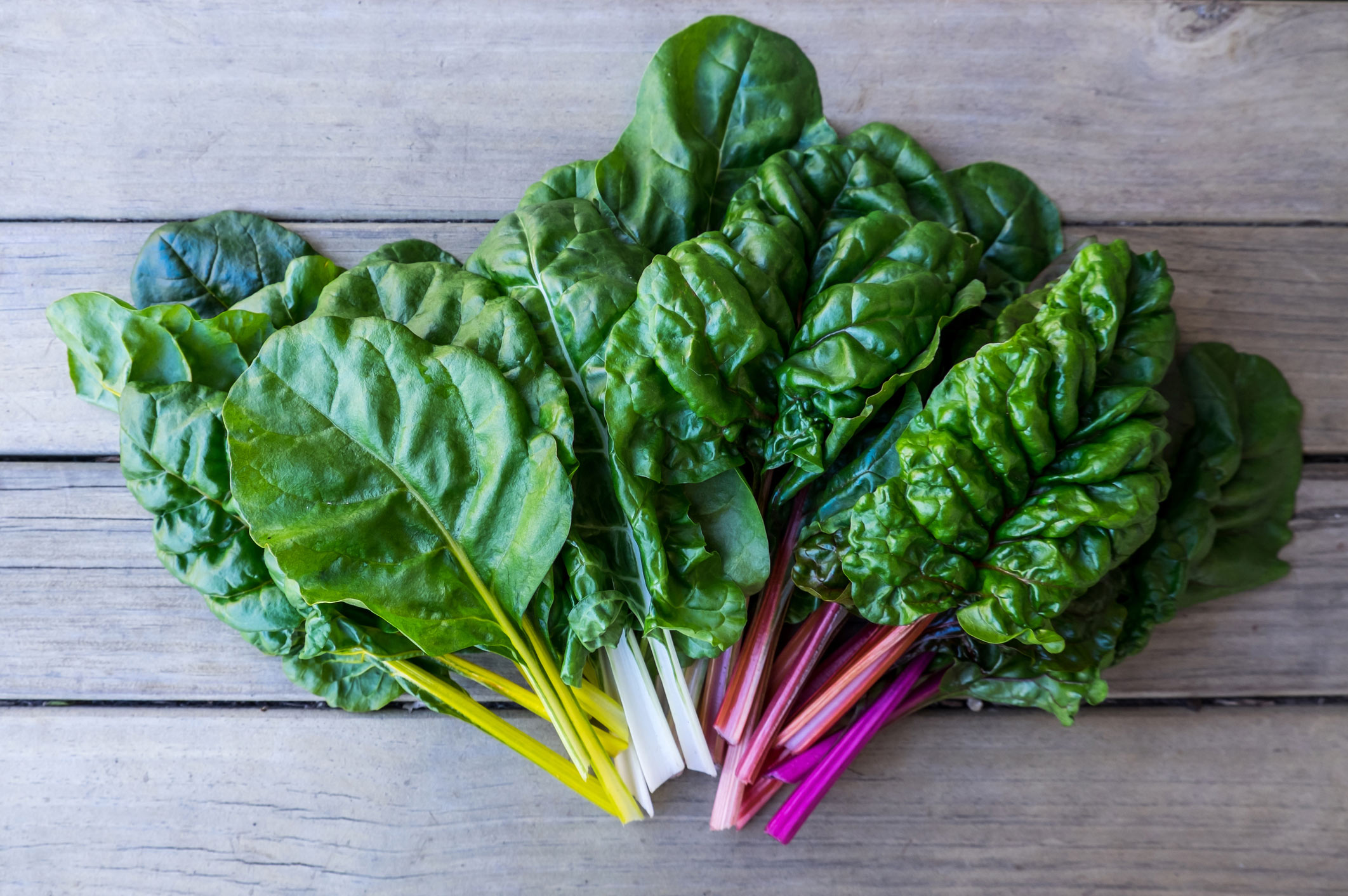 Top heart healthy foods: leafy greens