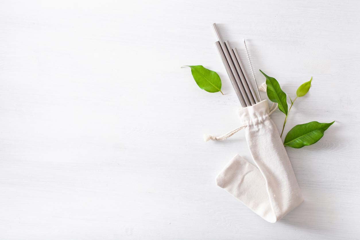 eco friendly reusable metal straw sustainable gift ideas