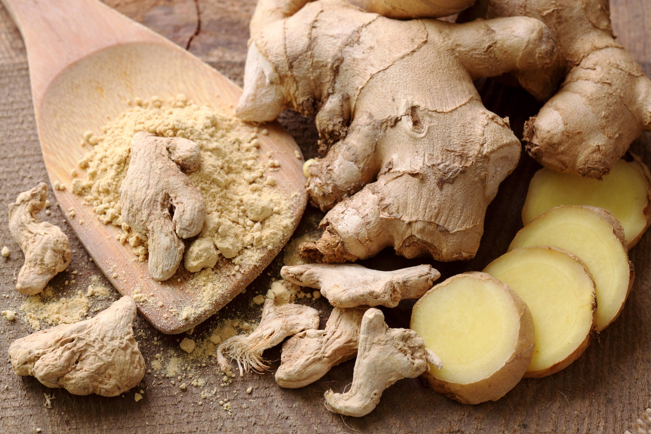 Top detoxifying foods: Ginger