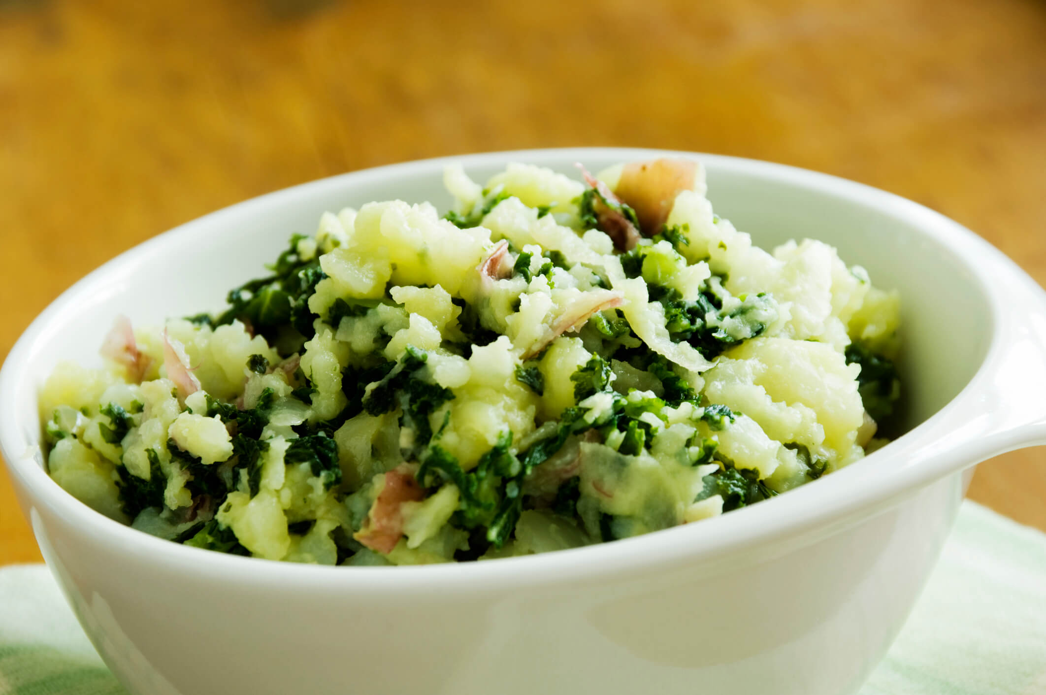 Irish colcannon potatoes