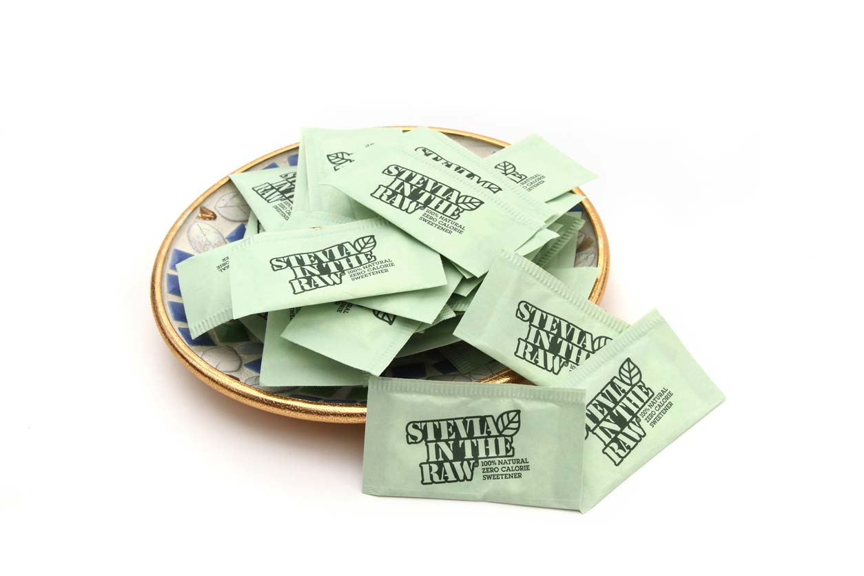 stevia in the raw packets in bowl