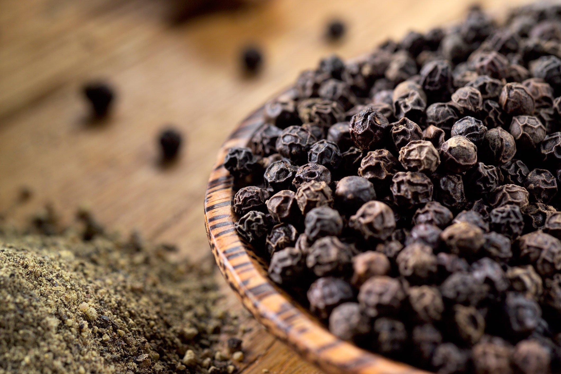 Top heart healthy foods: black pepper