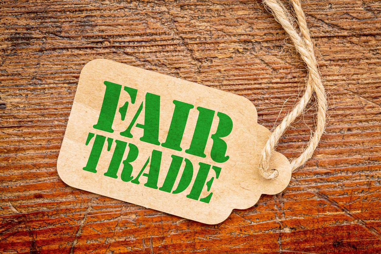 fair trade price tag