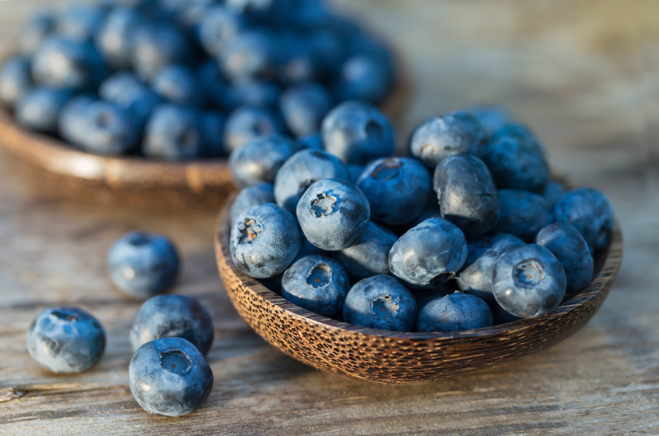 Top detoxifying foods: Blueberries
