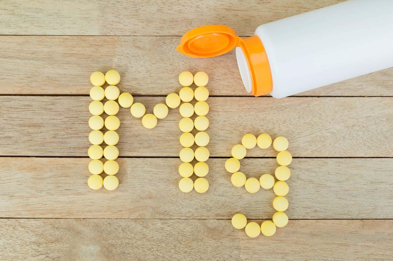 Mg pills