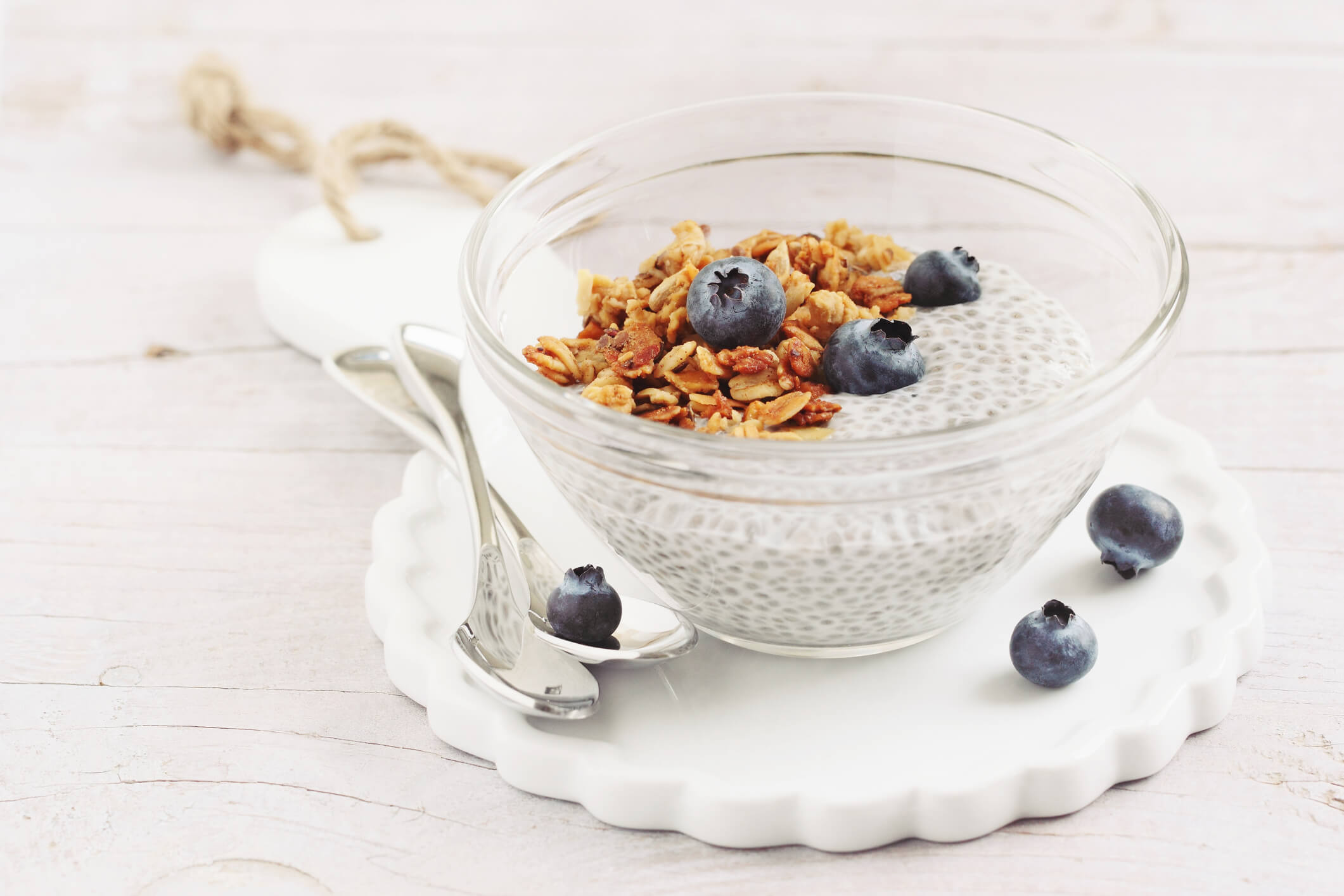 blueberry chia porridge