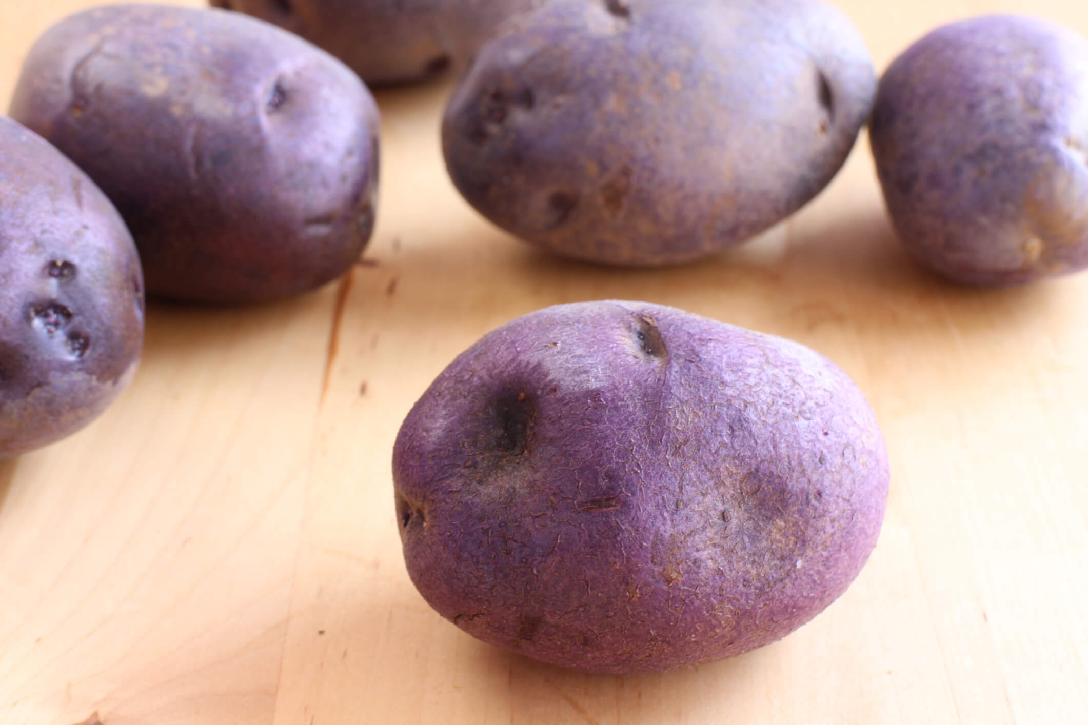 Foods for Cancer Prevention: Purple potatoes