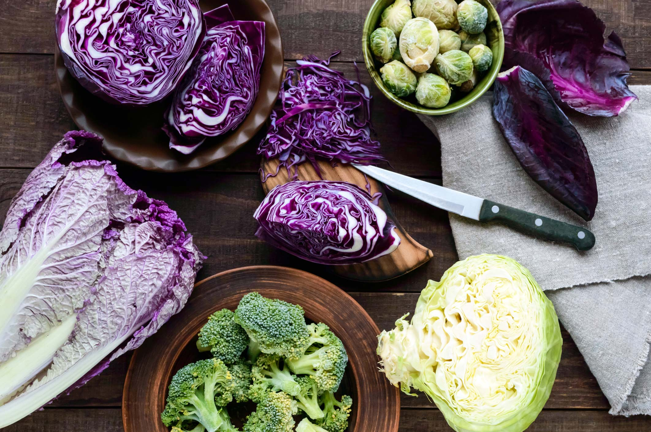 Top detoxifying foods: Cruciferous vegetables