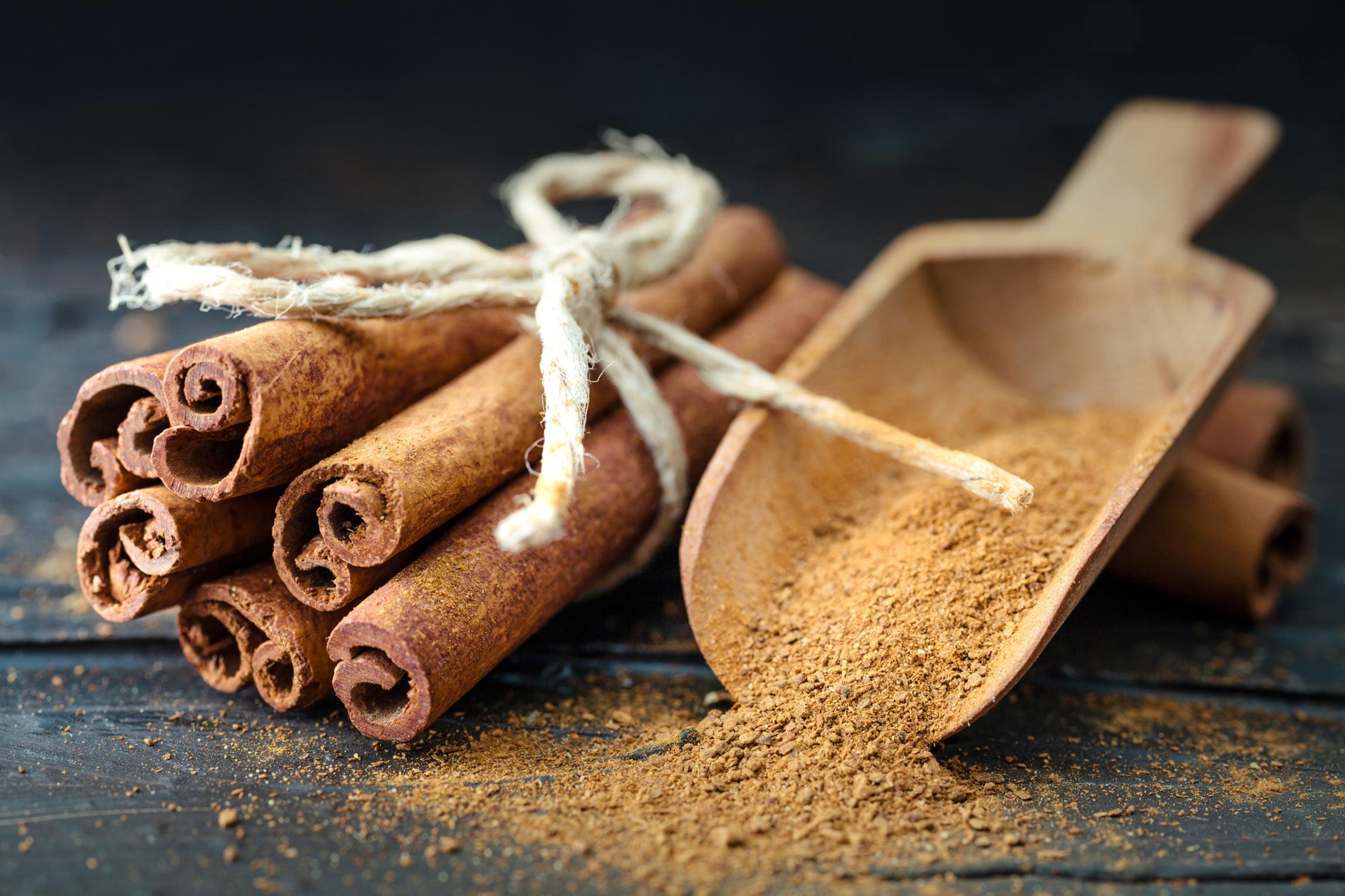 Health spices: cinnamon