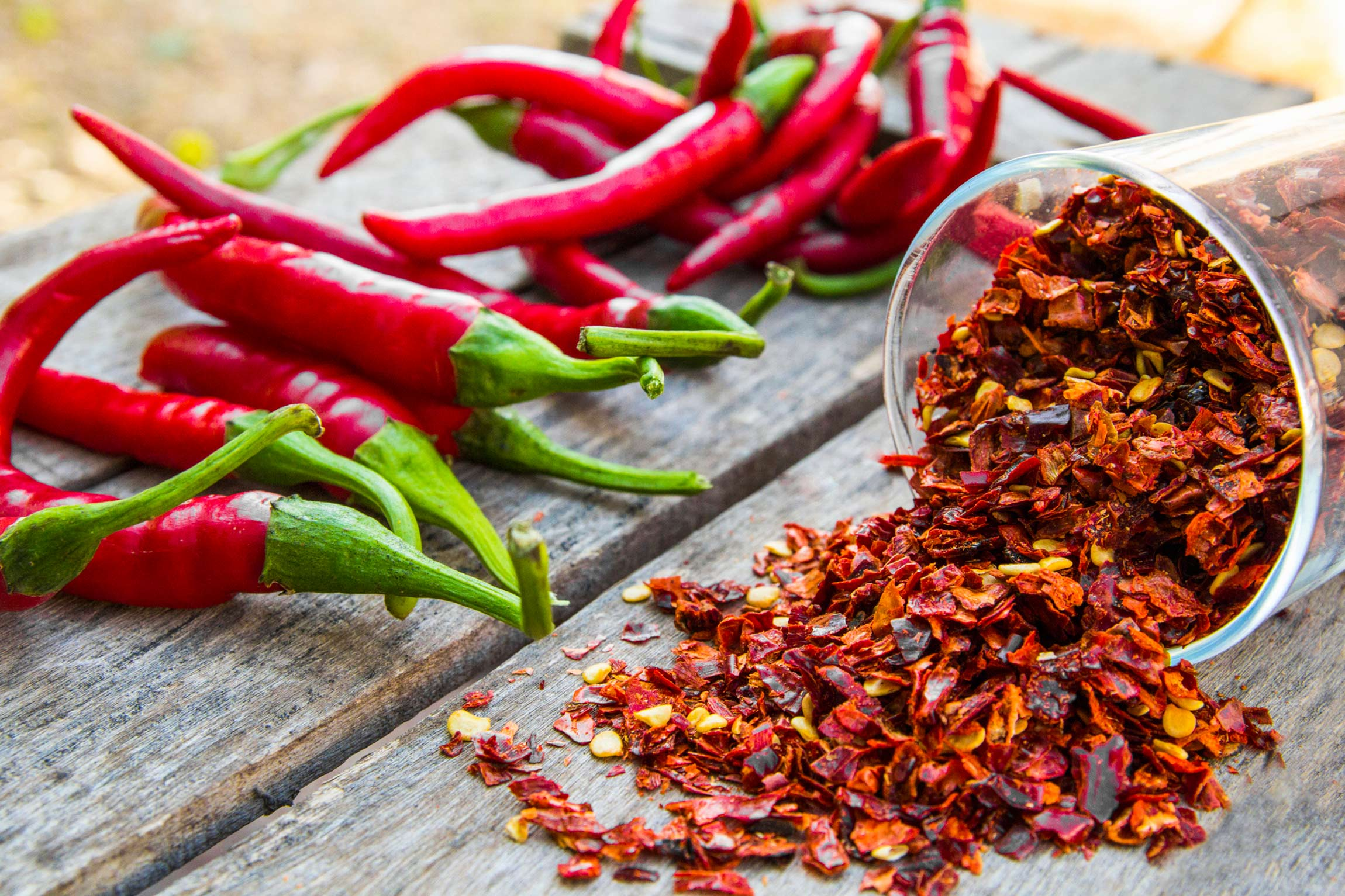 Healthy spices: pepper