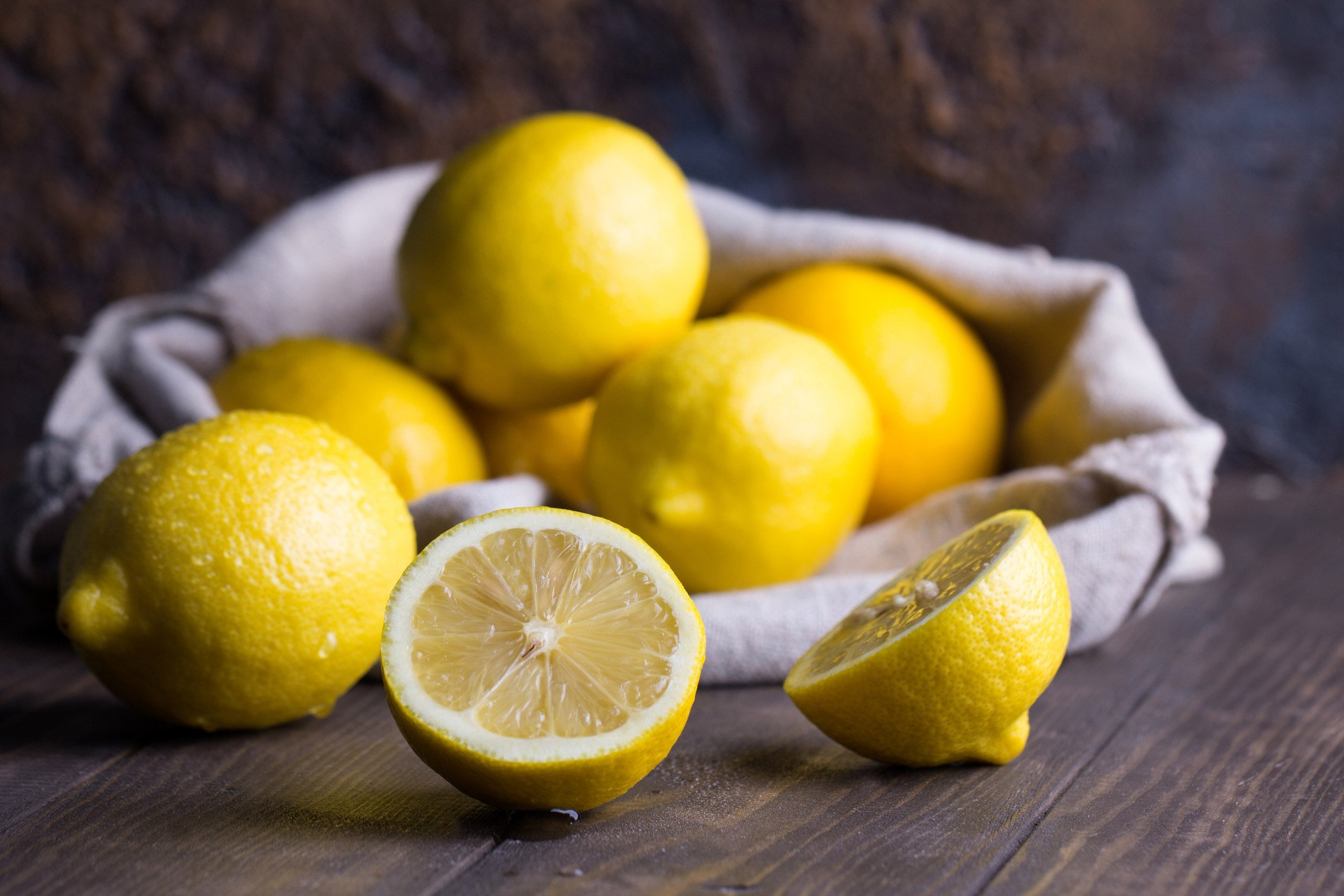 Top detoxifying foods: Lemons