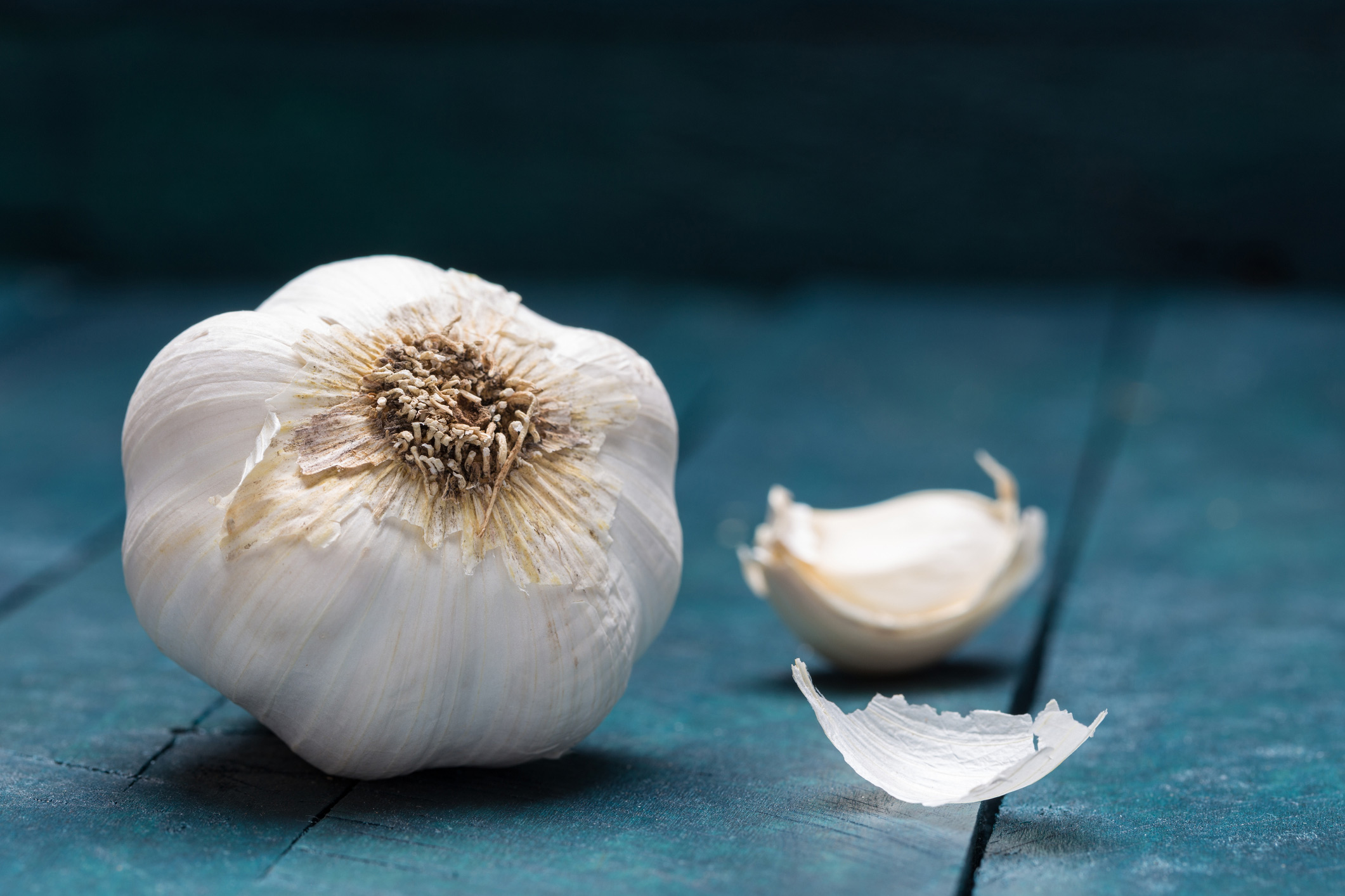 Allium vegetables: Garlic