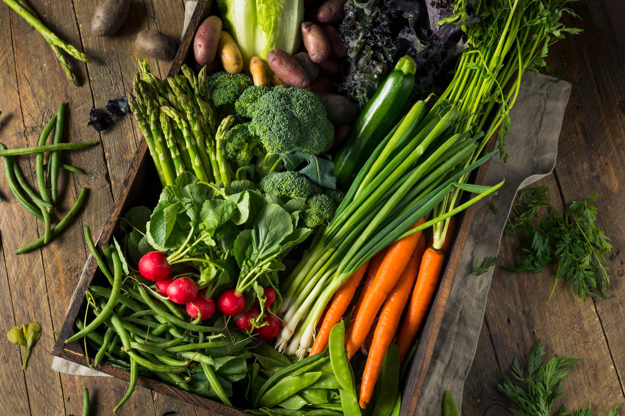 season vegetables