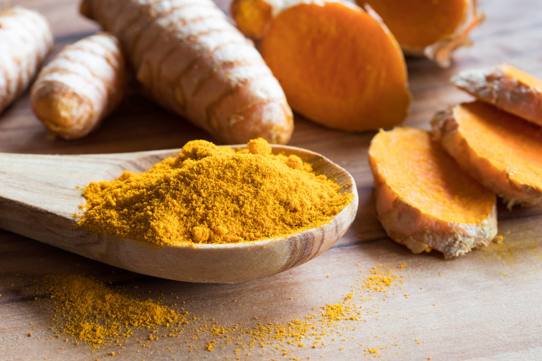 Healthy spices: turmeric